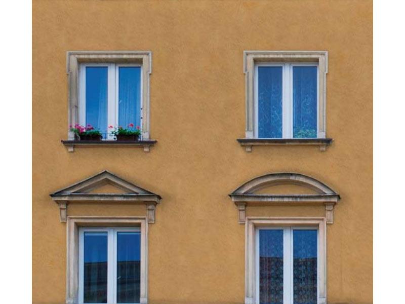 Amazing costo pittura casa esterno stile velatura a calce - Intonacare muro esterno ...